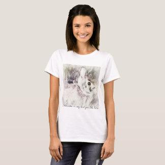 Nature fairy rabbit t-shirt