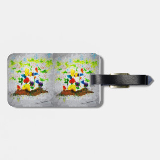 """Nature Fantasy Trees"" luggage tag"