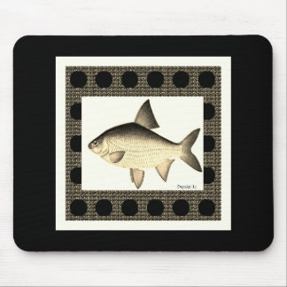 Nature-Fish_Surreal(c) Unisex_Sepia Mouse Pad