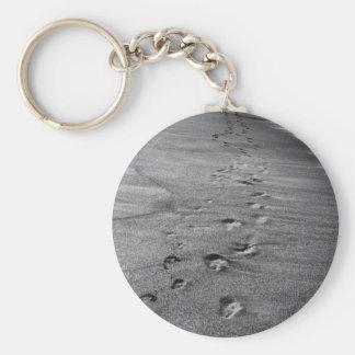 nature footprints key ring