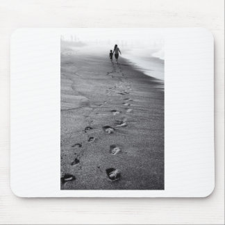 nature footprints mouse pad