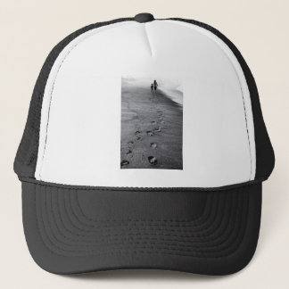 nature footprints trucker hat