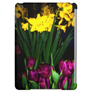 Nature Garden Night Flowers Spring iPad Case