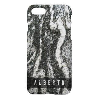 Nature Geology Feline Rock Texture Custom Name iPhone 8/7 Case