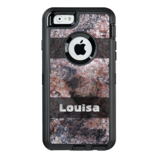 Nature Geology Pinkish Rock Texture any Text OtterBox iPhone 6/6s Case