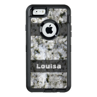 Nature Geology White Rock Texture any Text OtterBox iPhone 6/6s Case
