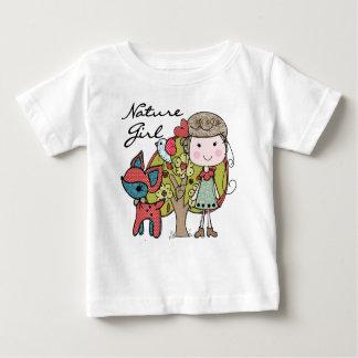 Nature Girl Baby T-Shirt