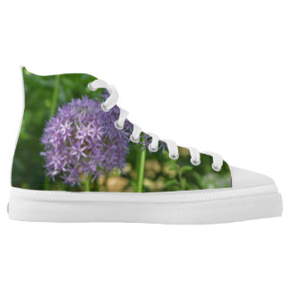 Nature Girl High Top Sneaker Printed Shoes