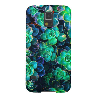 Nature Green Succulent Photo Case For Galaxy S5