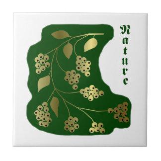 Nature green tiles