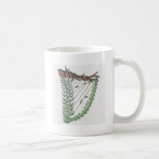 nature harp coffee mug