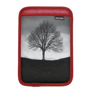 Nature in black and white iPad mini sleeve