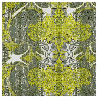 Nature in Green Fabric Pattern