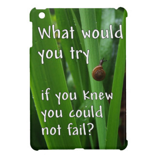 Nature Inspiration and Motivation iPad Mini Case