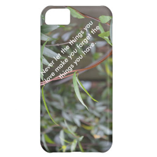 Nature inspiration iPhone case