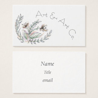 Nature-Inspired Business Cards