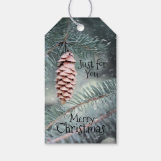 Nature Inspired Christmas Gift Tags
