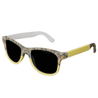 Nature-Inspired Floral and Yellow Sunglasses