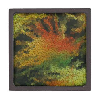 Nature inspired mosaic premium gift boxes