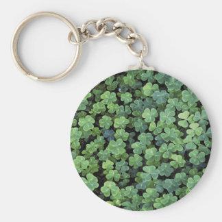 Nature Ireland Leaf Clover Keychains