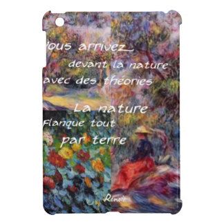 Nature is powerful in art creation iPad mini covers
