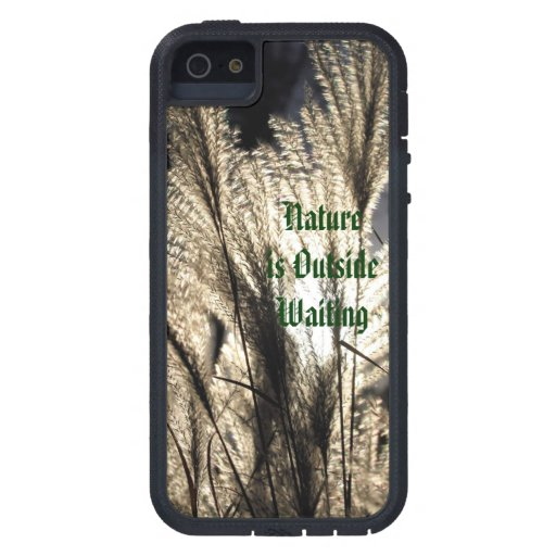 """""""Nature is Waiting"""" Nature Lover iPhone Case Cover For iPhone 5/5S"""