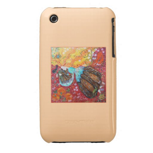 Nature Lady and the Seasons of the Year Case-Mate iPhone 3 Cases