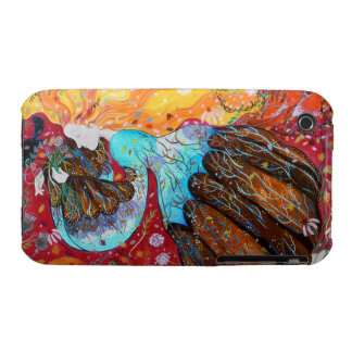 Nature Lady and the Seasons of the Year. Case-Mate iPhone 3 Cases