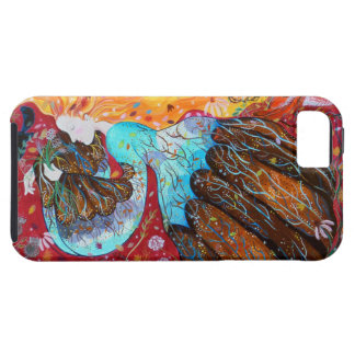 Nature Lady and the Seasons of the Year. iPhone 5 Case
