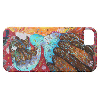 Nature Lady and the Seasons of the Year. iPhone 5 Cover