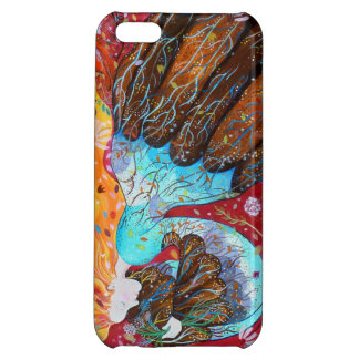 Nature Lady and the Seasons of the Year. iPhone 5C Cover