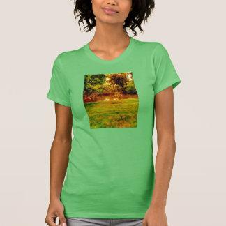 nature lake ringer t-shirt ladies