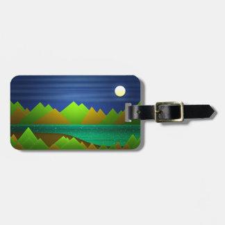 Nature Landscape Luggage Tag