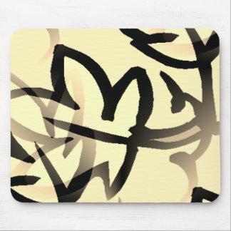 Nature_Leaf(c) Cream-Leaf__ Mouse Pad