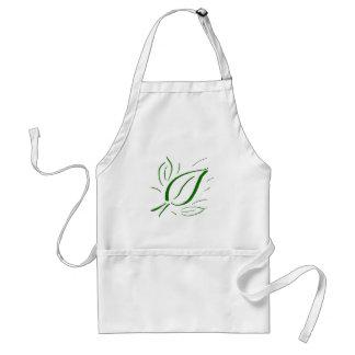 Nature Leaf Green - Adult Apron