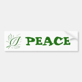 Nature Leaf Green - Car Bumper Sticker