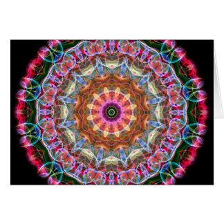 Nature Love kaleidoscope Card