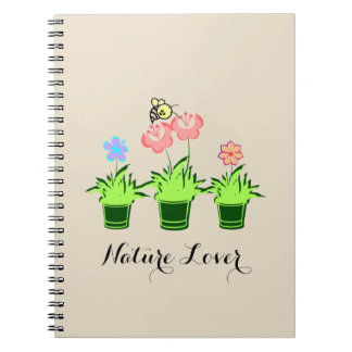 """Nature Lover"" Beautiful Notebook"