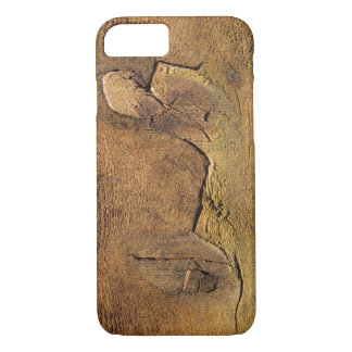 Nature Lover Cedar Woody Abstract Art iPhone 7 Case
