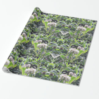 Nature Lover Clover Morning Dew Wrapping Paper