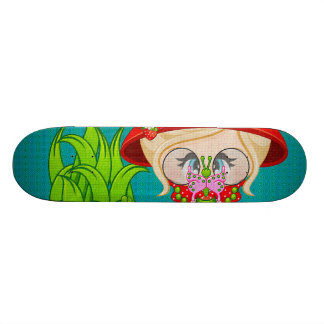 Nature Lover Frog Faery 18.1 Cm Old School Skateboard Deck
