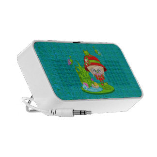 Nature Lover Frog Faery iPhone Speaker