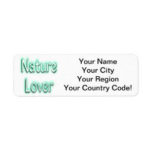 nature return address labels zazzle com au
