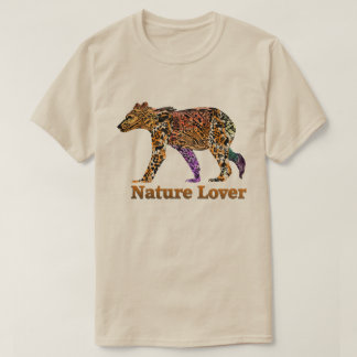 Nature Lover  Grizzly Tshirt
