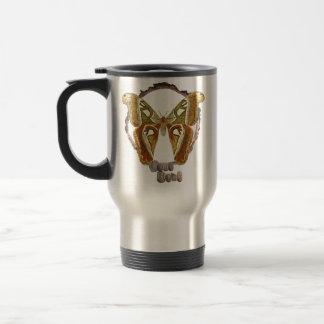 Nature lovers butterfly travel mug. travel mug
