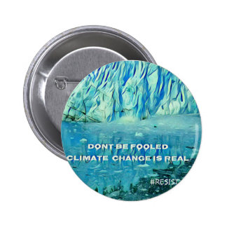 Nature Lovers environmental issues. 6 Cm Round Badge