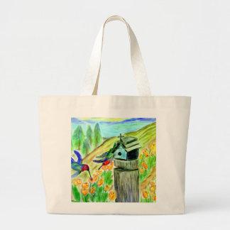 Nature Lover's Tote Jumbo Tote Bag