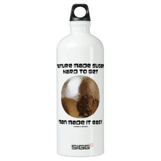 Nature Made Sugar Hard To Get Man Made It Easy SIGG Traveller 1.0L Water Bottle