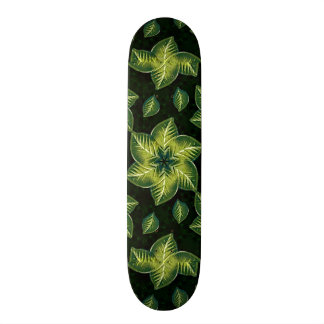 Nature Motif Decorative Skate Deck