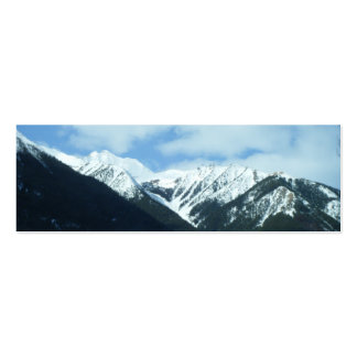 Nature Mountains Bookmark Pack Of Skinny Business Cards